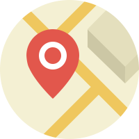 location tracking icon for server page